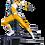 Thumbnail: Yellow Ranger BDS Art Scale 1/10 - Power Rangers - Iron Studios
