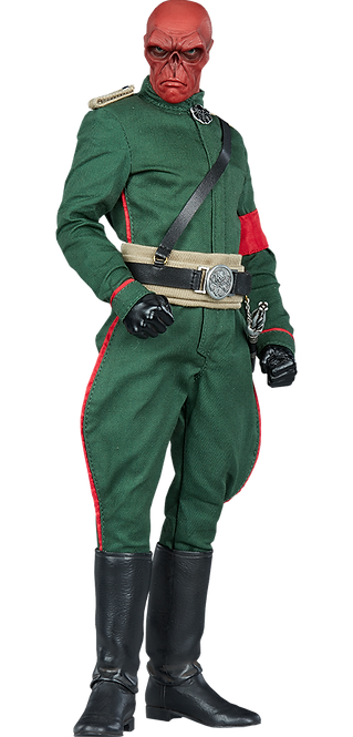 Red Skull Sixth Scale