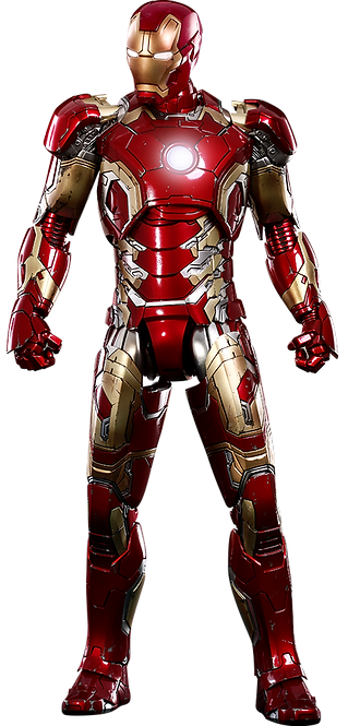 Iron Man Mark XLIII DIECAST Hot Toys