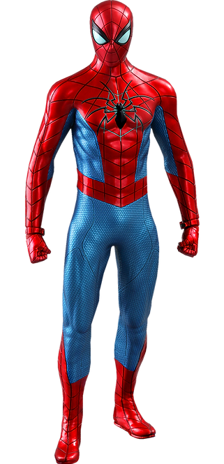 Spider-Man (Spider Armor - MK IV Suit) Sixth Scale Figure by Hot Toys