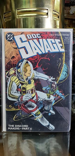 Doc Savage #6 - Año 1989