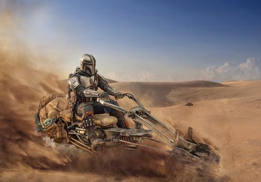 The Mandalorian Speeder Deluxe