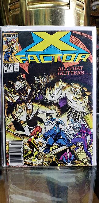 X-Factor Vol 1#42 - Año 1989
