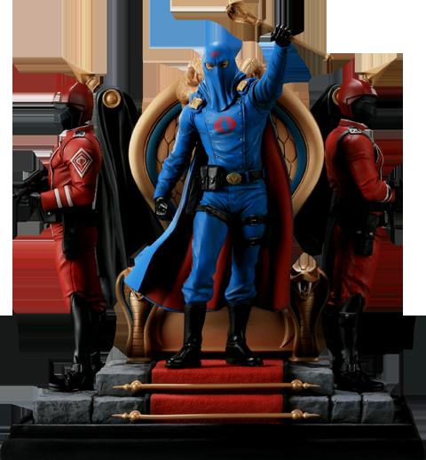 Cobra Commander Diorama - SIDESHOW Exclusivo