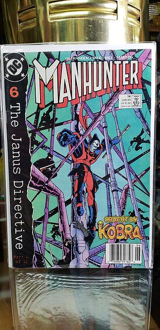 Martian Manhunter #1 - Año 1988