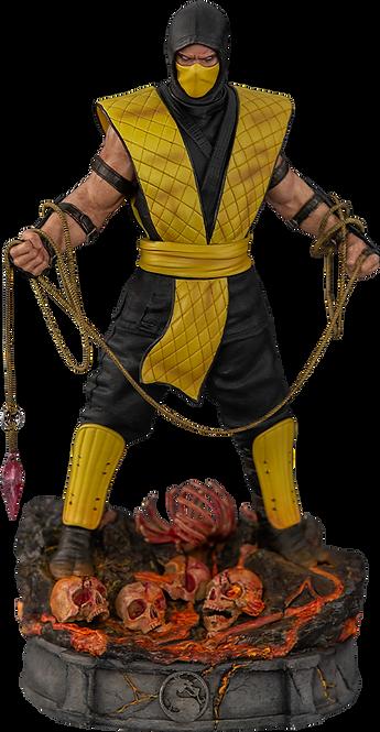 Scorpion Mortal Kombat Klassic - IRON STUDIOS 1:10