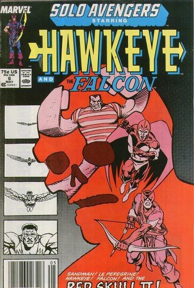Solo Avengers Vol 1 - Año 1988