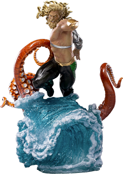 Aquaman Deluxe - IRON STUDIOS 1:10