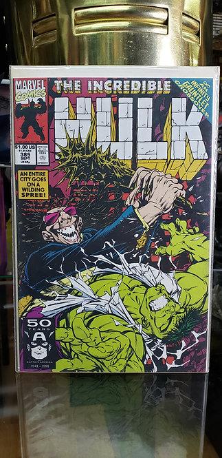 The Incredible Hulk #385 - Año 1991