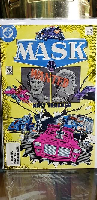 MASK DC Comics - Año 1987