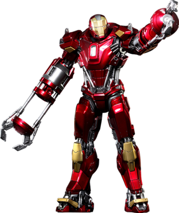 Iron Man Mark XXXV Hot Toys