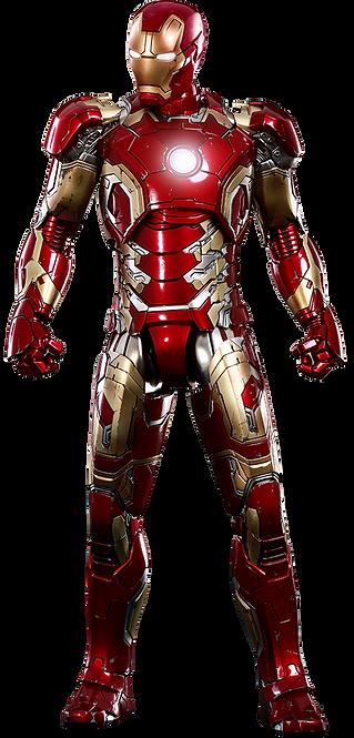ron Man Mark XLIII Sixth Scale Figure by Hot Toys DIECAST