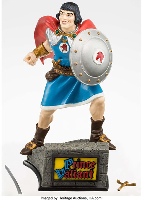 TIKI DESIGNS PRINCE VALIANT CLASSIC HEROES LIMITED EDITION