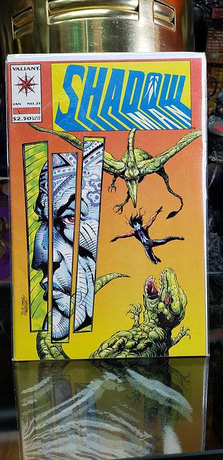 Shadow Valiant #21 - Año 1992