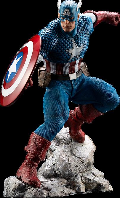 Captain America Statue by Kotobukiya 1:10 Scale ARTFX - MARVEL Premier