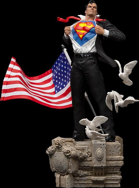 Clark Kent Deluxe - IRON STUDIOS 1:10