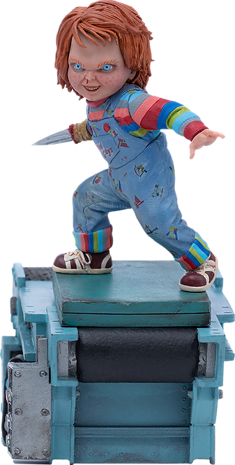 Child's Play II Chucky 1:10 Scale Statue by Iron Studios