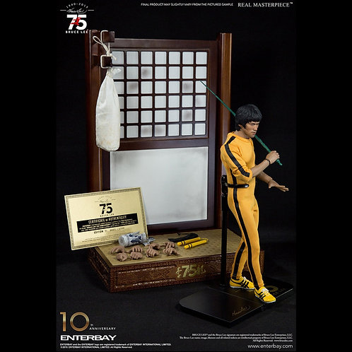 Bruce Lee Real Masterpiece 75th Anniversary - Enterbay