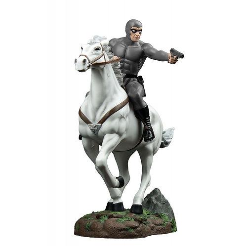 The Phantom - Phantom on Hero Statue Grey Suit Edition - Ikon Collectables