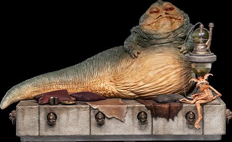 Jabba the Hutt Deluxe -IRON STUDIOS 1:10