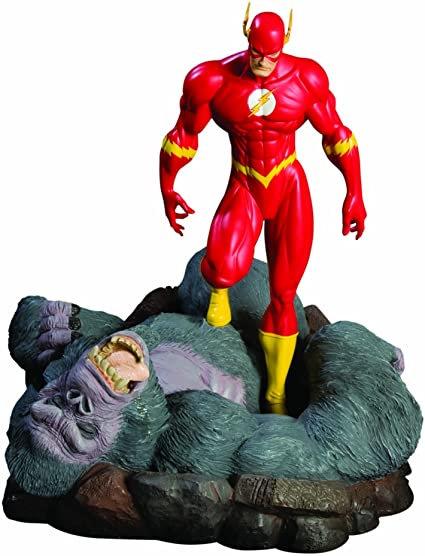 Flash vs Gorilla Grodd DC Direct