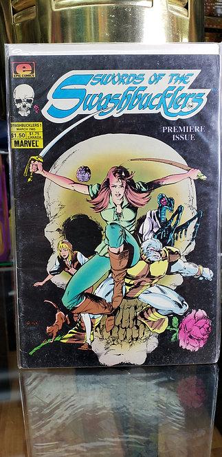 """1985 Marvel Comics """"Swords of the Swashbuckler"""" Vol. 1 - Año 1985"""