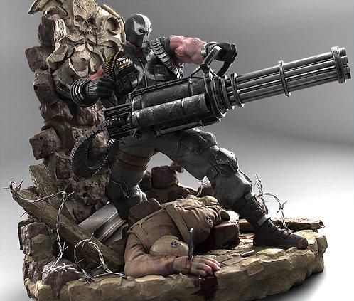 Crossbones MW Custom Statue