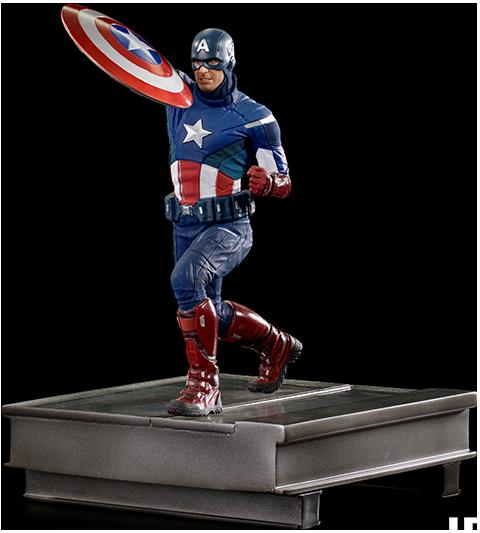 Captain America 2012 - IRON STUDIOS 1:10