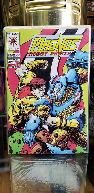 Magnus Robot Fighter #30 - Año 1993