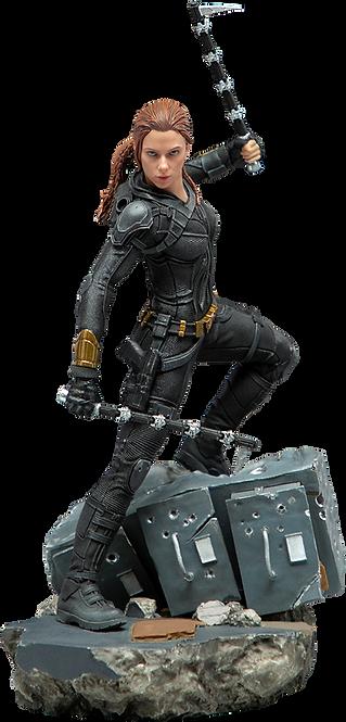 Natasha Romanoff Marvel : Black Widow - IRON STUDIOS 1:10 Battle Diorama Se
