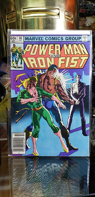 Power Man and Iron Fist #86 - Año 1972