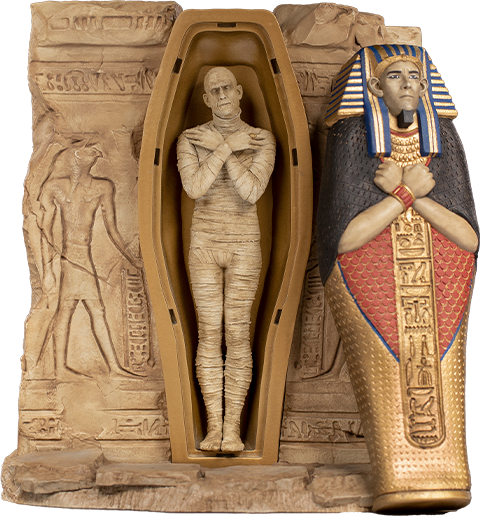The Mummy Deluxe Art Scale 1/10 - IRON STUDIOS