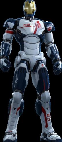 Iron Legion Hot Toys