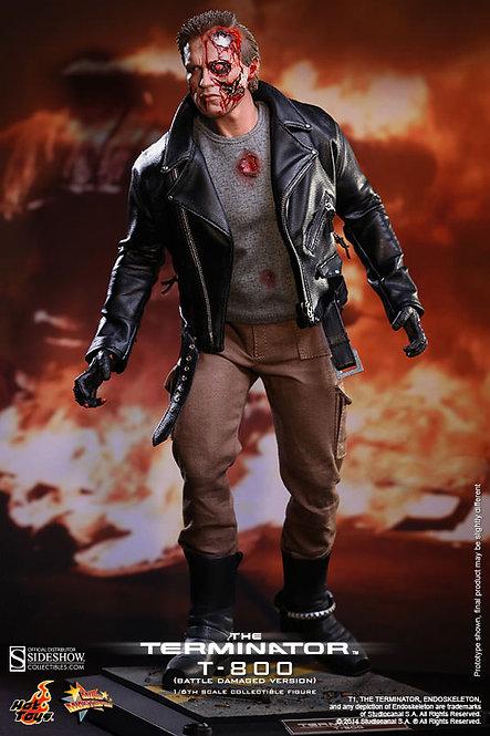 Terminator T800 Battle Damaged Version Hot Toys