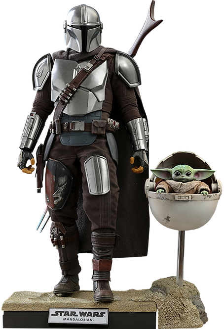 The Mandalorian and The Child (Deluxe) Collectible Set by Hot Toys