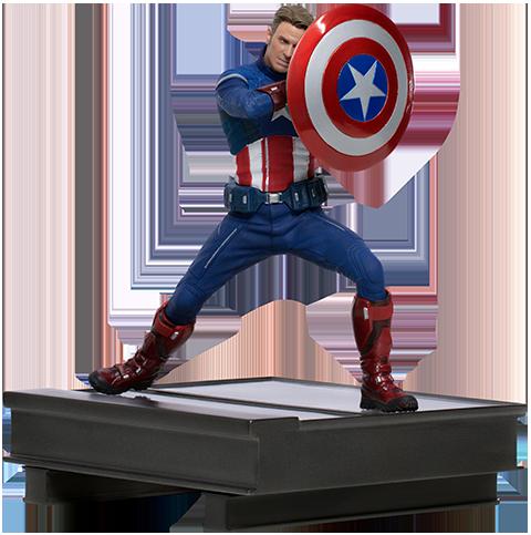 Captain America 2023 - IRON STUDIOS 1:10