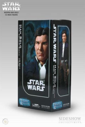 Han Solo Bespin Jacket - Sideshow Heroes Rebelion