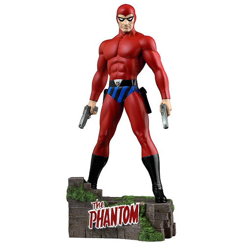 The Phantom - Ghost Who Walks 12 inch Statue - RED - Ikon Collectables