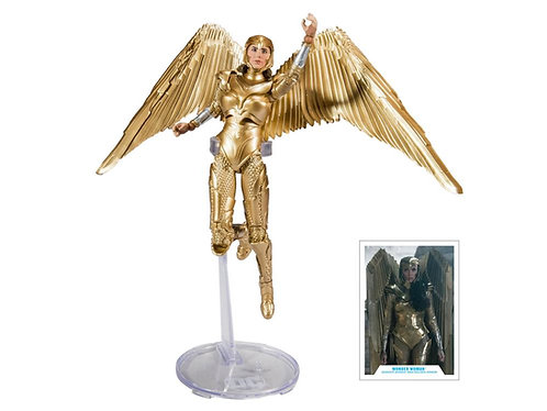 Wonder Woman 1984: Gold Armor DC Multiverse -McFarlane