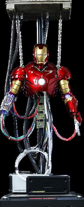Iron Man Mark III Construction Version Hot Toys