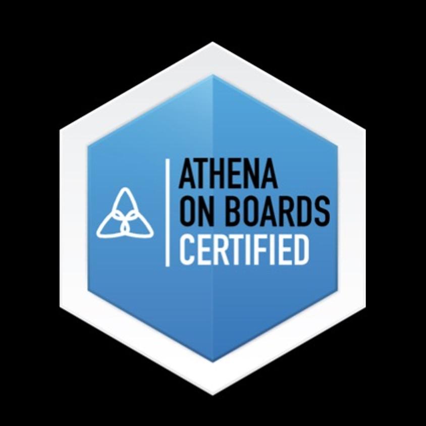 Athena on Boards Cohort 3 - Workshop 2