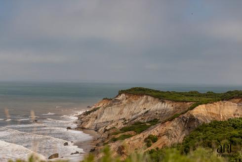 Another shot of the cliffs in Aquinnah, Martha's Vineyard, Mass