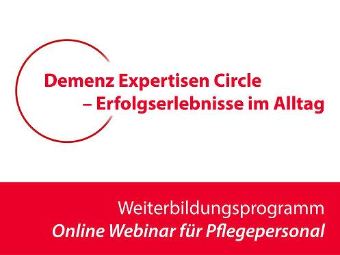 Demenz Expertisen Circle – Erfolgserlebnisse im Alltag für Pflegepersonal