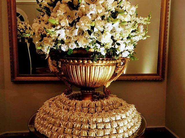 Mesa linda de bem casados