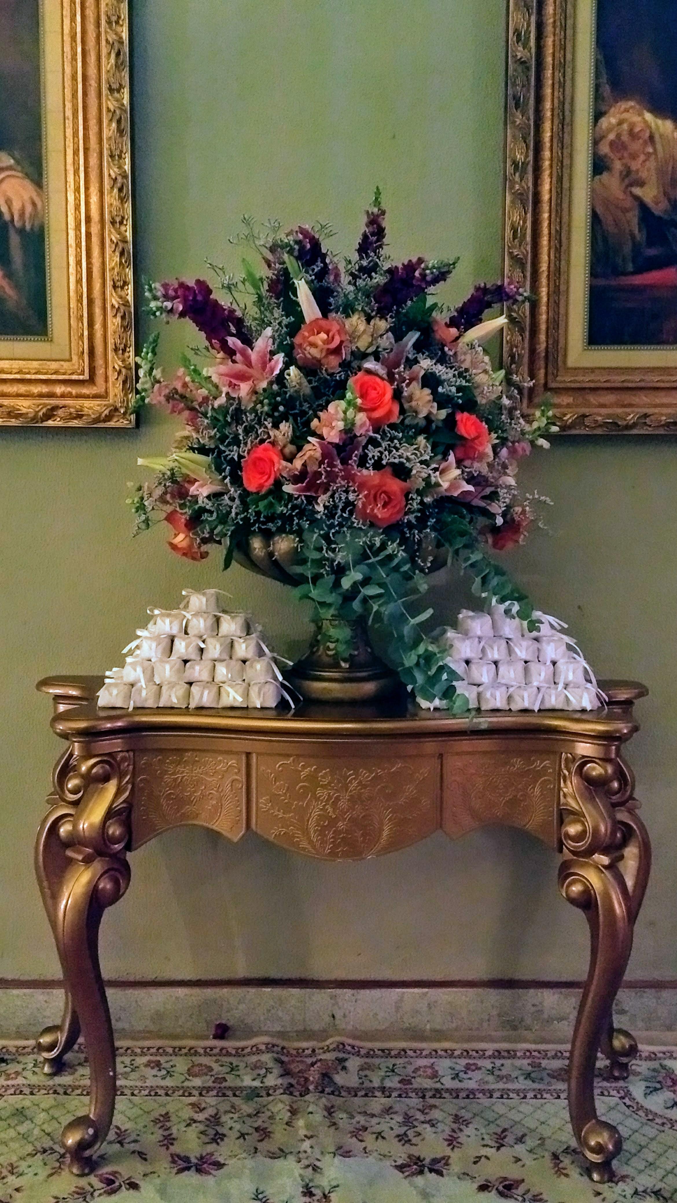 mesa de bem-casado