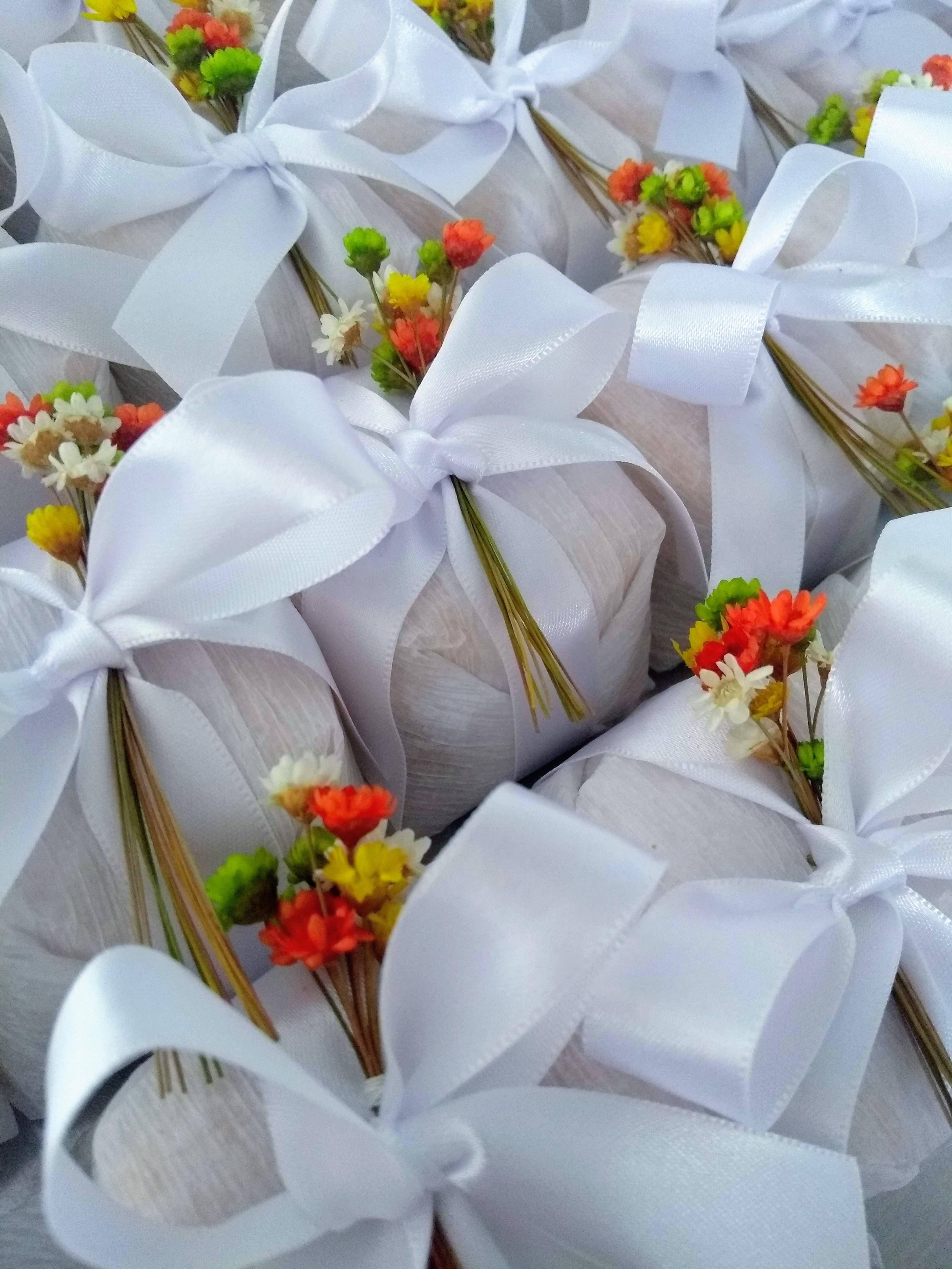 branco bouquet sempre viva