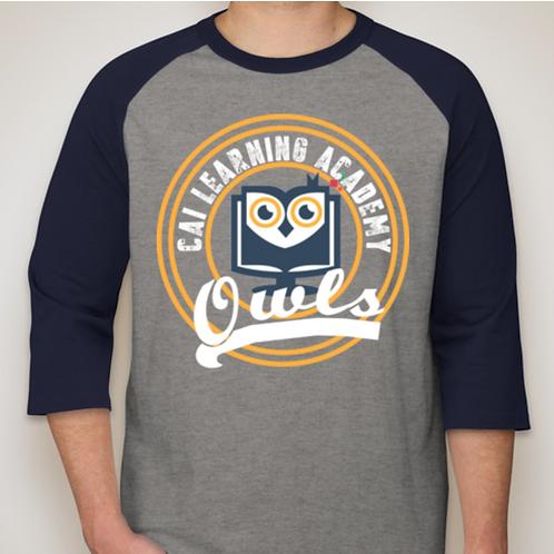CAILA Owls 3/4-Sleeves Tee
