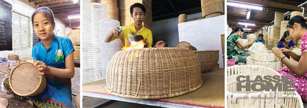 rattan lanterns and cat beds classic home myanmar