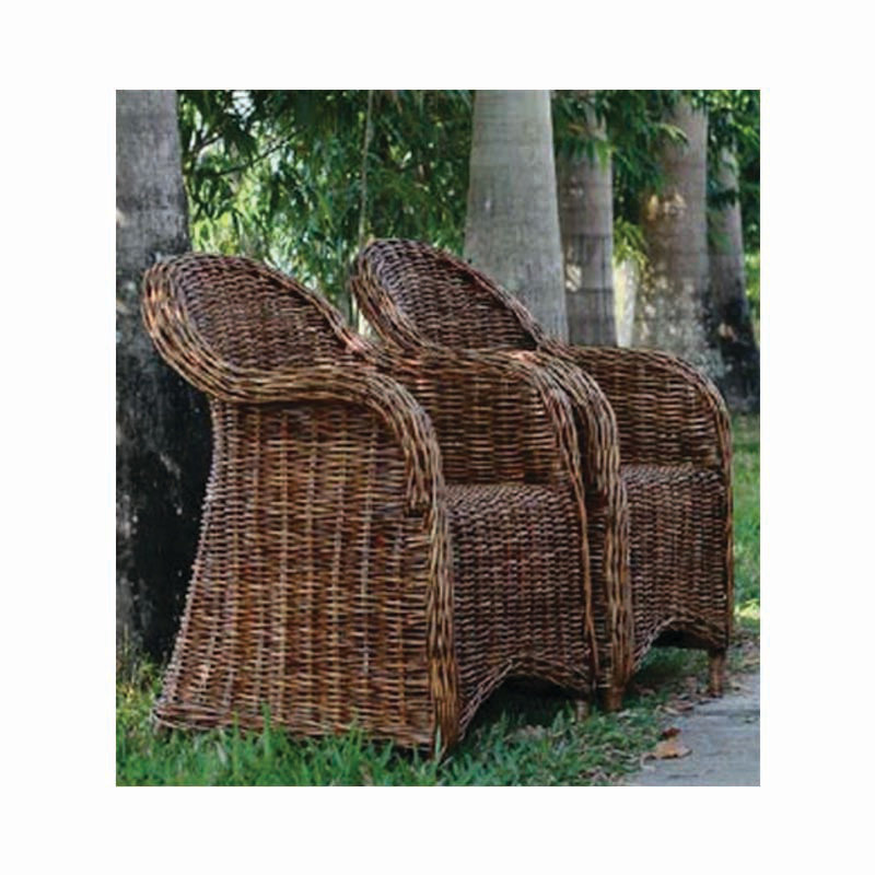 THAN LWIN Rattan Lounge Chair