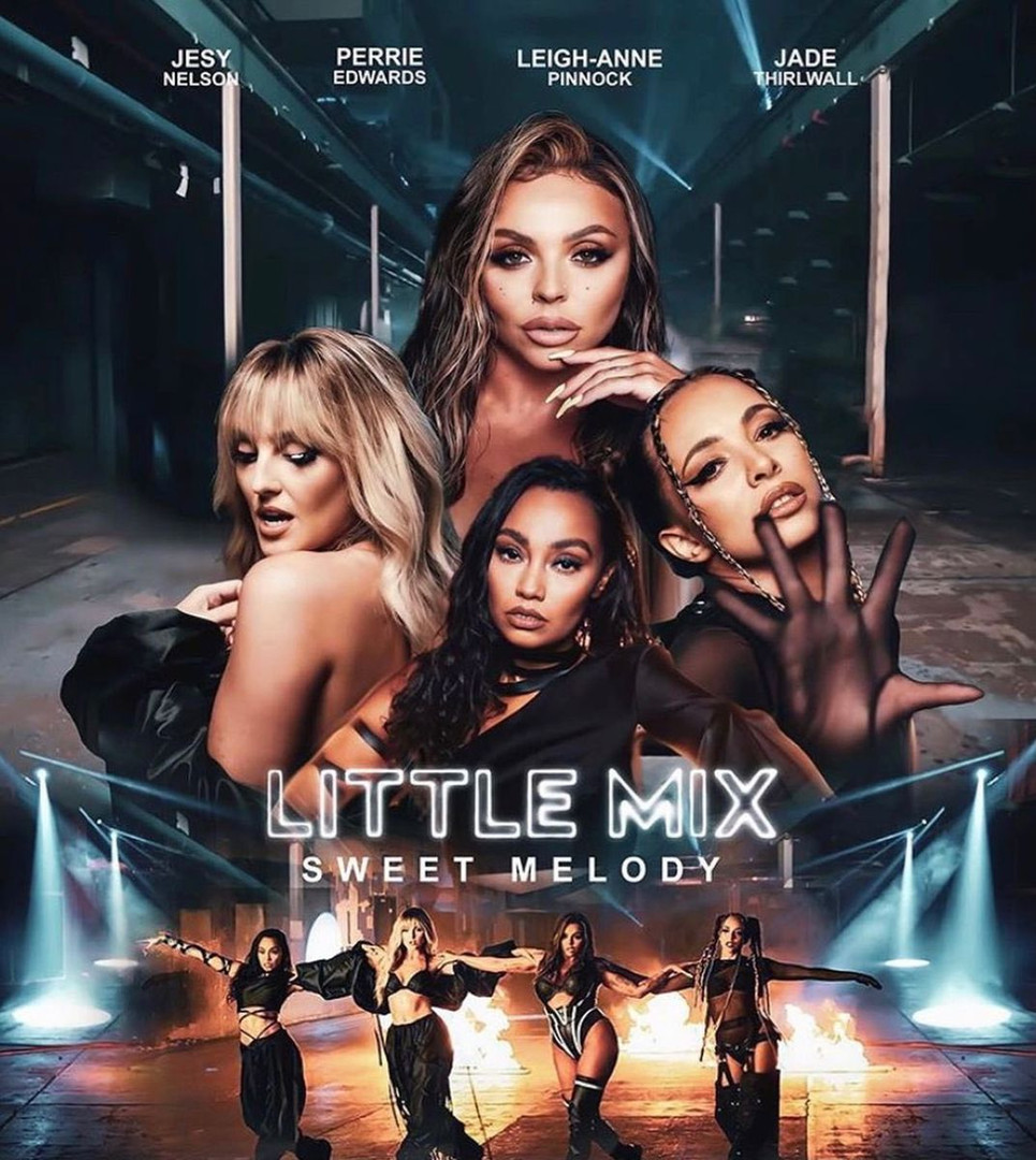 Little Mix Sweet Melody Music Video Post